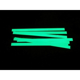 Banda fotoluminiscente adhesiva de aluminio