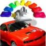 Pintura fluorescente para automóviles en bomba
